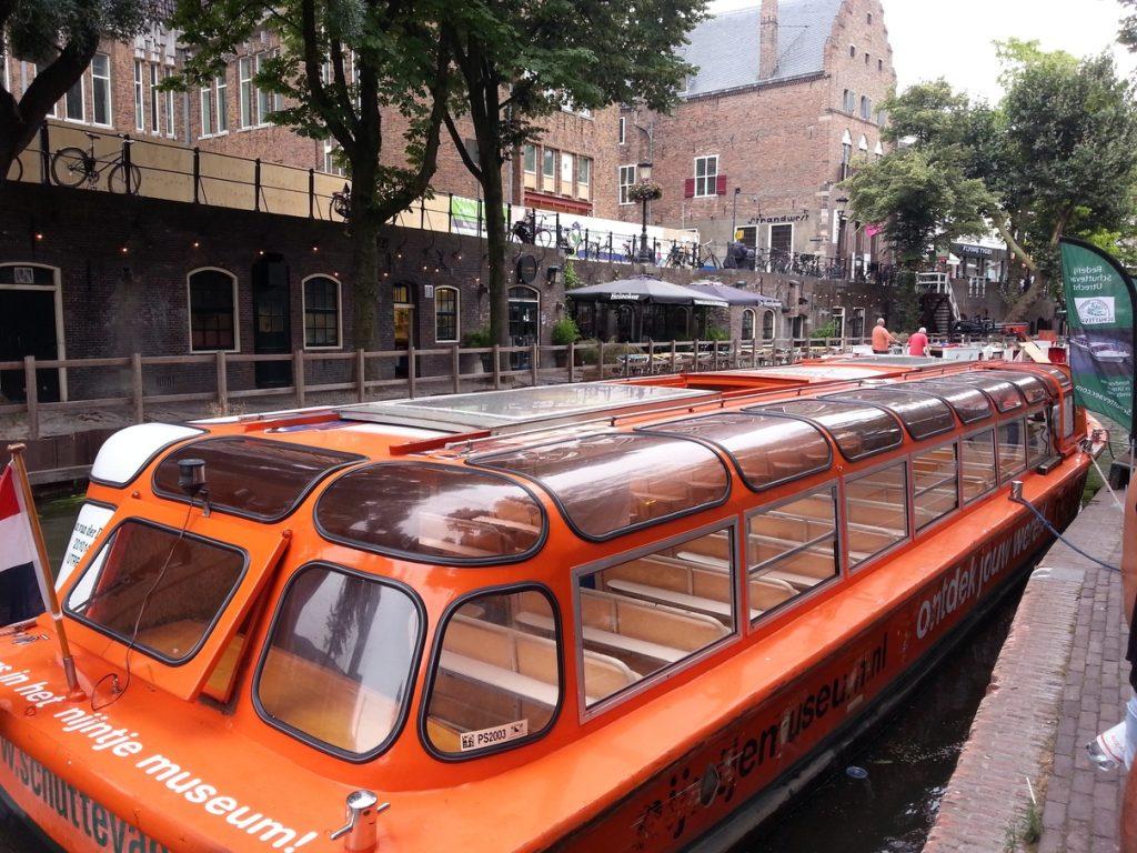 Giro in battello per i canali di Utrecht