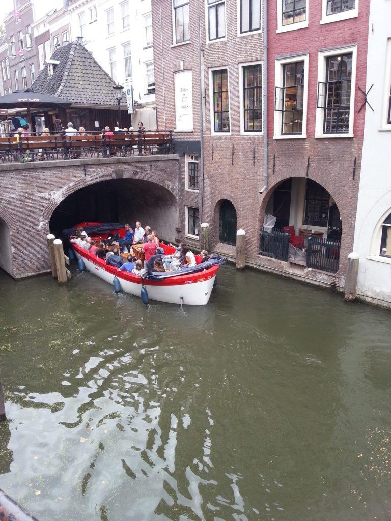 Uno dei tanti canali di Utrecht