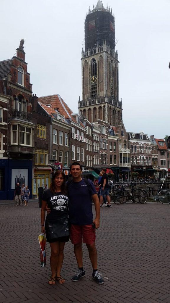 Due classici turisti a Utrecht