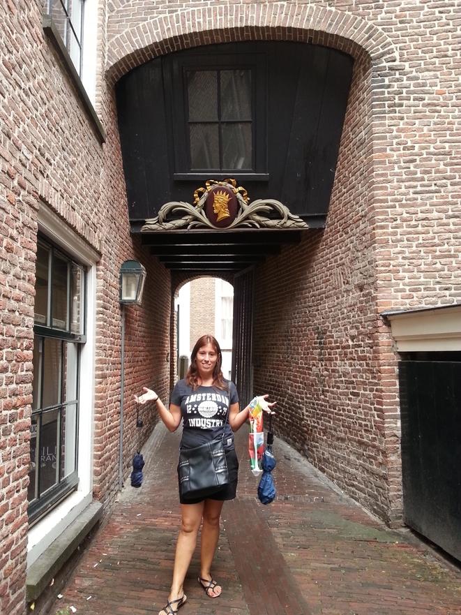 Una tipica casa di Utrecht